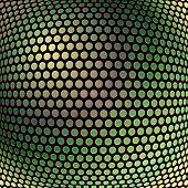 Abstract background elegant metallic, vector circles