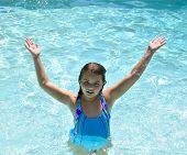 Girl In The Pool.