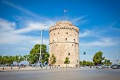 THESSALONIKI, GREECE - MAY 27, 2014: White Tower exhibition is dedicated to the city and its history