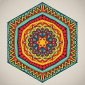 Tribal Six-sided Pattern