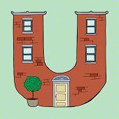 Letter U Apartment