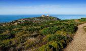 The Atlantic Coast Near Cape Espichel, Portugal