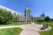 image of suny  - The SUNY System Administration Building formerly the Delaware  - JPG