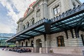 Denver, CO - August 1, 2014: New addition to historical Union Station in downtown Denver Colorado
