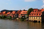 Bamberg pier and embankment