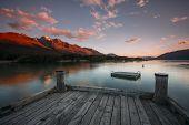 Lake Wakatipu at Glenorchy