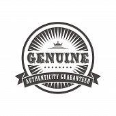genuine label
