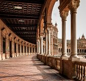 Corridor Of Plaza De Espana , Spain