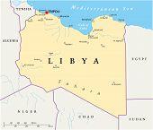 Libya Political Map