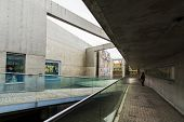 KYOTO - April 20 : Garden of Fine Art, the world's first outdoor art garden on April 20, 2014 in Kyo