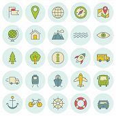 Vector Icons Set. For Web Site Design And Mobile Apps.