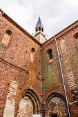 Tower Of Medieval Cistercian Monastery In Kolbacz, Poland