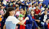 Graduate Ceremony At University