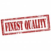 Finest Quality-stamp