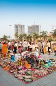 Art Works On Display , Indian Handicrafts Fair At Kolkata