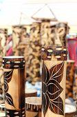Wooden Art Work , Indian Handicrafts Fair At Kolkata