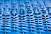 Blue Wickerwork Detail