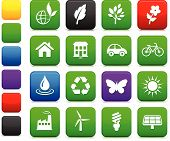 Environment Elements Icon Set poster