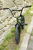 BMX bike at park