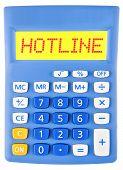 Calculator With Hotline