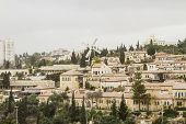 Panorama Of West Jerusalem Yemin Moshe Neighborhood .