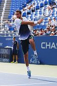 US Open 2014 champion Marin Cilic from Croatia during US Open 2014 round 4 match