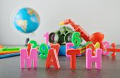 picture of math  - Study Math conceptual image of education  - JPG