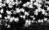 pic of iron star  - Star glitter scattered - JPG