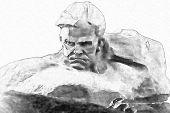 image of brest  - Illustration of Brest Fortress Hero in Belorussia - JPG