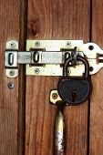 Lock Protected Door