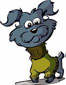 foto of scottie dog  - a funny cartoon of a scotty dog - JPG