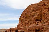 Jordan, Petra, A Royal Tomb In The Rocks