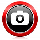 photo camera icon photography sign