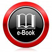 book icon e-book sign
