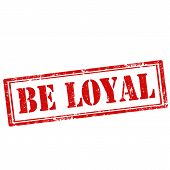 Be Loyal-stamp