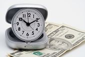 pic of last day work  - Clock and money  - JPG