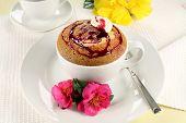 berry Sponge Pudding