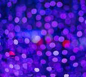 Defocused blue and pink Christmas lights ideal for backgrounds