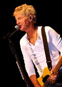 Kevin Cronin Singing and Playing Guitar