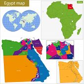 Administrative division of the Arab Republic of Egypt.