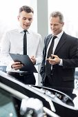 Some Paperwork Before Buying A Car.