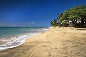 Hanakao'o Beach Park or Canoe Beach on the west coast of Maui, Hawaii