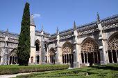 Courtyard Of The Monastery Of Santa Maria Da Vitoria In Batalha
