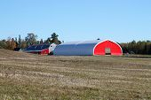 Red Agricultural Barn