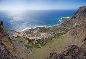La Gomera - Aerial view of Valle Gran Rey