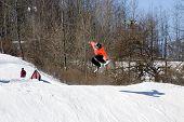 Tempo de antena do snowboard
