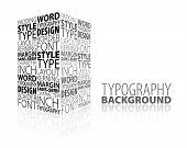 Abstract Design And Typography Background