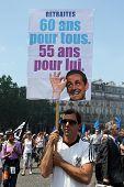 People Demonstrate In Paris