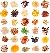 image of flax seed oil  - Collection Cereal Grains and Seeds  - JPG