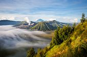 stock photo of bromo  - Mount Bromo - JPG